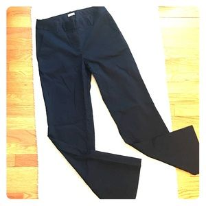 J Crew navy chinos in classic cut
